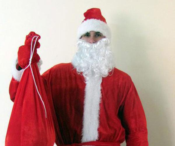 Костюм Деда Мороза простой купить в Москве
