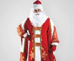 Костюм Деда Мороза напрокат Царский