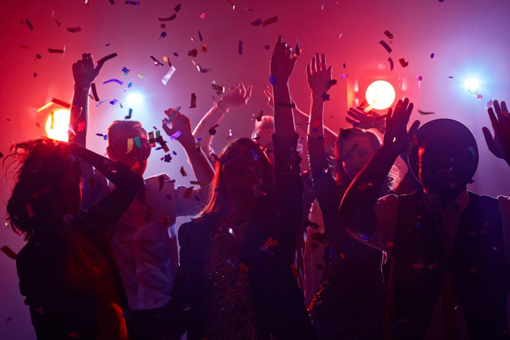 Новый год в клубе