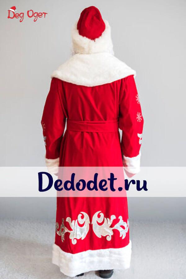 Костюм Деда Мороза Боярский 3