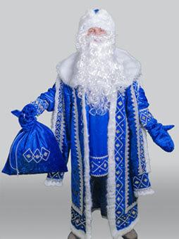 Дед Мороз Кремль синий
