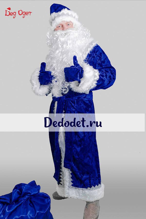 Пальцы вверх Дед Мороз
