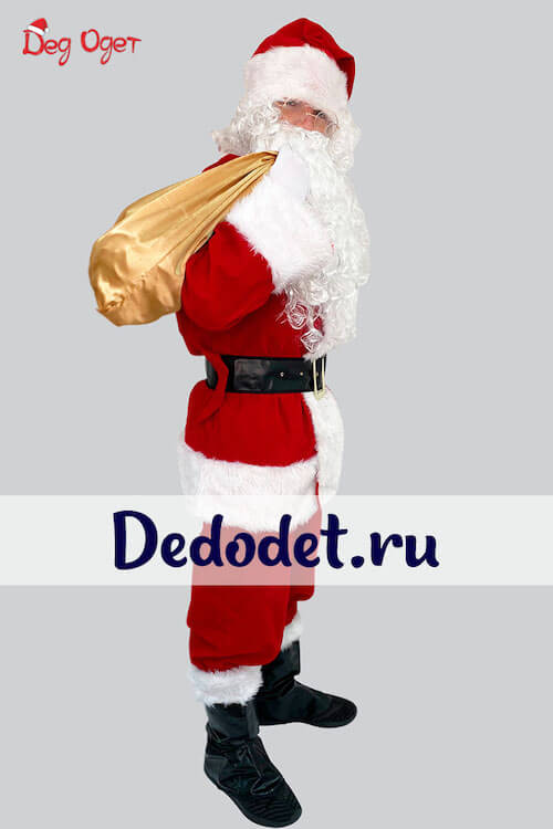 Костюм Санта-Клауса Люкс 1