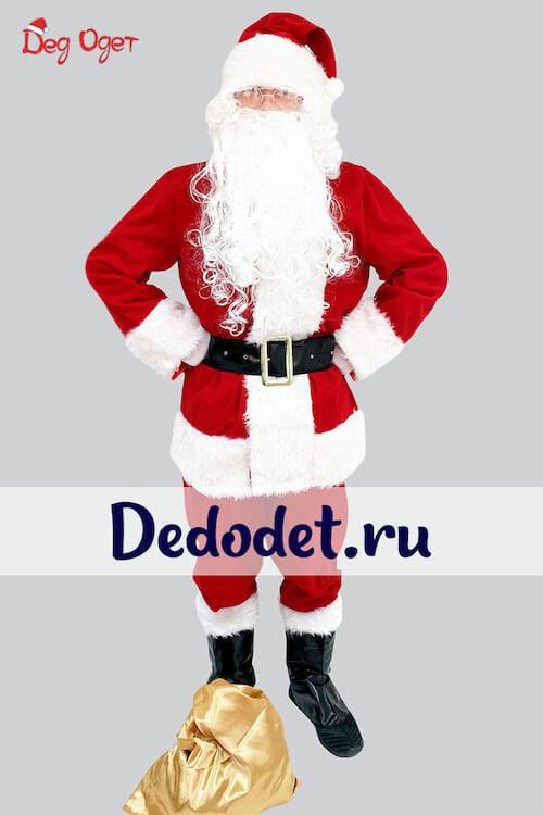 Костюм Санта-Клауса Люкс 2