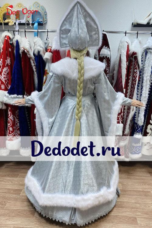Костюм Снегурочки ВИП ручной работы 3