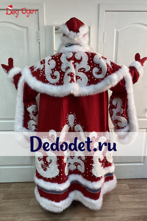 Костюм Деда Мороза ВИП ручной работы 2